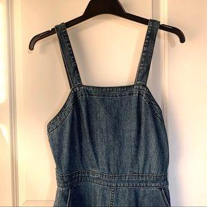Overall midi dress